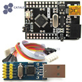 STM32 Board + ST-LINK V2 Programmer module  Emulator STLINK Downloader for Cortex-M3 STM32F103C8T6 Board w/ SWD Socket