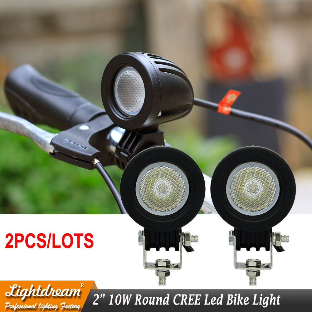 10W LED Work Light 12V 24V Car Auto SUV ATV 4WD AWD 4X4 Bike Wagon Offroad LED Driving Fog Lamp Motorcycle Truck Headlight x2pcs 22 200w offroad led light bar 12v 24v car auto suv truck trailer tractor atv suv boat 4wd 4x4 wagon awd driving headlight lamp