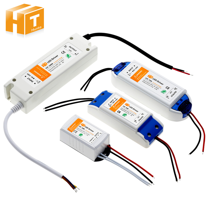 LED Lighting Transformers DC12V 18W 36W 72W 100W High Quality Safy Driver for LED Strip Power Supply ...