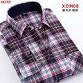2017 мужская мода одежда МАО решетки рубашки с длинным рукавом Досуг фланелевые рубашки