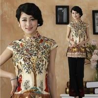 Women New Arrival Blouses Chinese Tradition Style Shirt Fashion Top Blouse M L XL 2XL 3XL 4XL