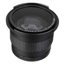 Сверхширокоугольный объектив Lightdow 52 мм 0,35x «рыбий глаз» + макрообъектив для Nikon D7100 D5200 D5100 D3100 D90 D60 с объективом 18 55 мм