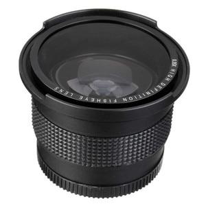 Image 1 - Lightdow 52 MILLIMETRI 0.35x Fisheye Super Wide Angle Lens + Macro per Nikon D7100 D5200 D5100 D3100 D90 D60 con 18 55mm Lens