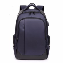 2019 New Large Laptop Backpack Business Bags Durable Waterproof Resistant Travelling Polyester School Bookbag for College