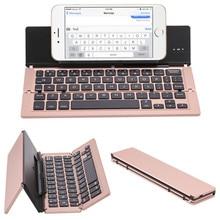 Wireless Bluetooth Keyboard Aluminum Slim Mini