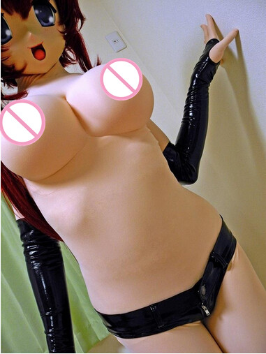 Anime Cosplay Kigurumi Fetish Zentai Pink Skin Suit Original Kigurumi Second Luxurious Customized Bodysuit