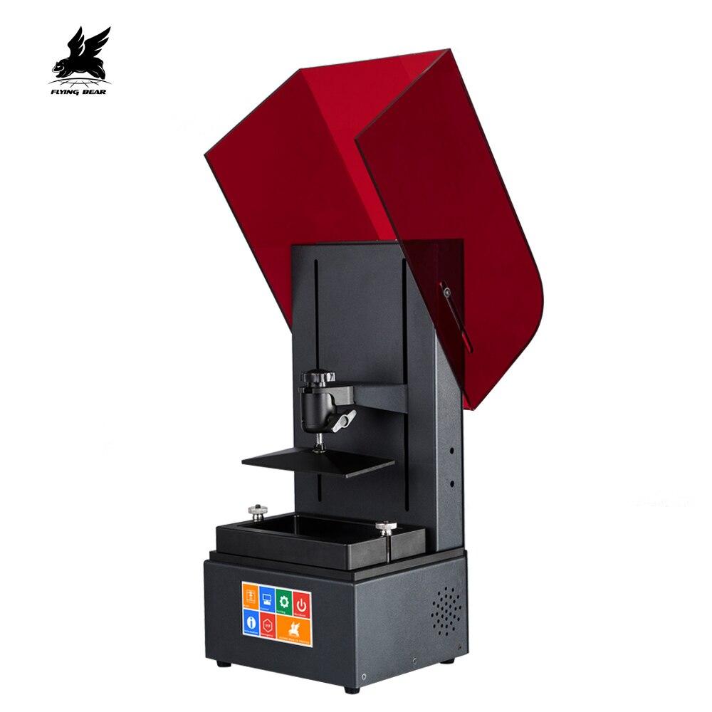 Più nuovo Flyingbear Tocco di Colore Dello Schermo di 2560*1440 LCD Lustro UV Resina DLP 3D Stampante
