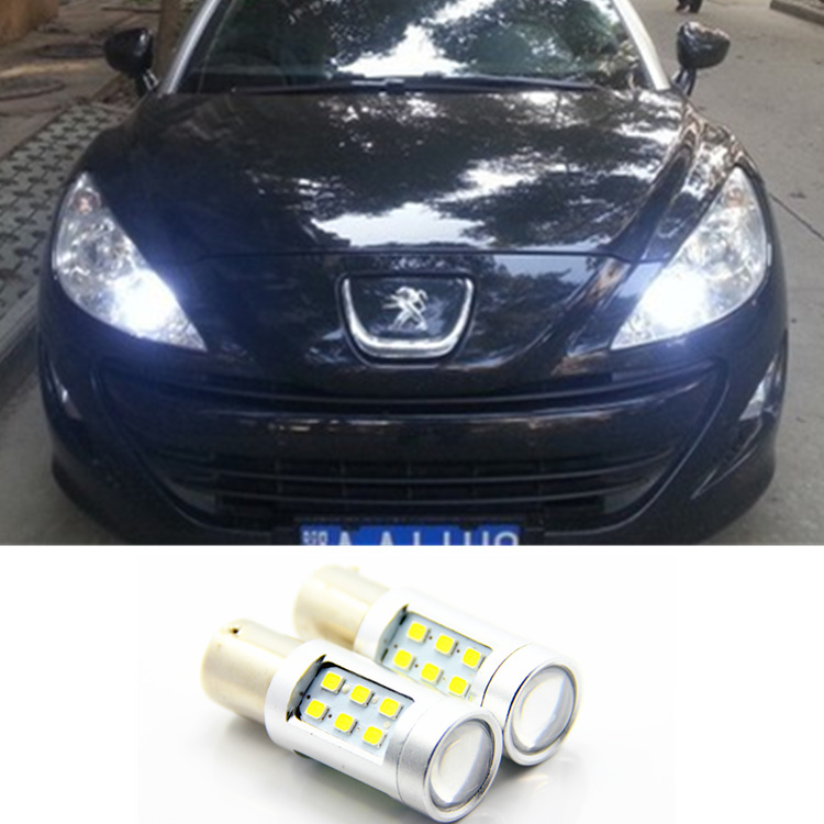 LED DRL Driving Daytime Running Day Fog Lamp Light For peugeot 308 peugeot 408 RCZ Citroen C4L Fiat Viaggio
