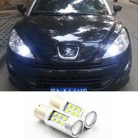 LED DRL Driving Daytime Running Day Fog Lamp Light For peugeot 308 peugeot 408 RCZ Citroen C4L Fiat Viaggio
