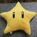 """Juguete de Regalo De halloween 30 cm Super Mario Bros Juguetes de Peluche 12 """"Amarillo lindo de la Historieta Estrella Suave Muñeca de Peluche Almohada Envío Gratis"""