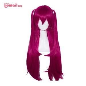 Image 1 - L email парик, игра Fate Grand Order Elizabeth Bathory Косплей парики 65 см длинные термостойкие синтетические волосы парик для косплея