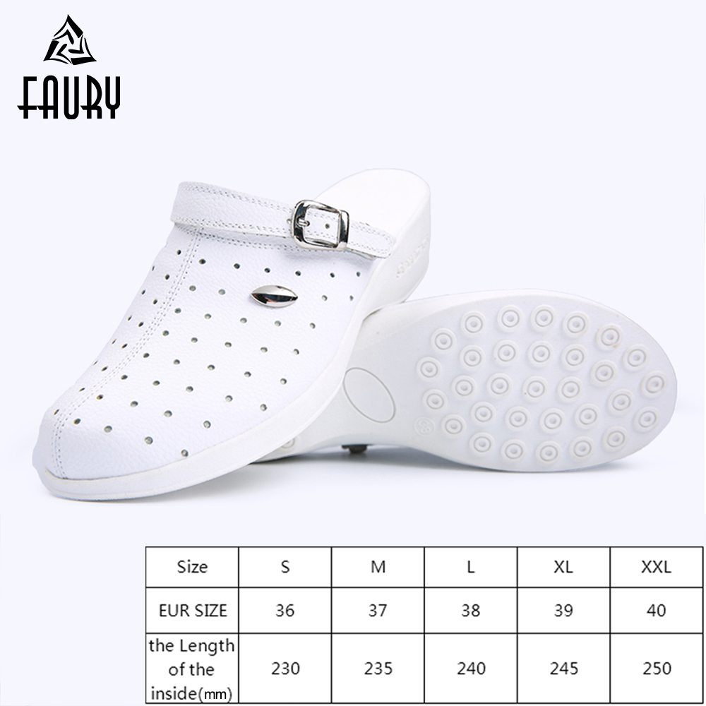 Nurse Hole Breathable Wedges Shoes Summer Graden Slippers Beach Sandals Hospital Medical Surgical Scrub Drugshop Lab Work Shoes