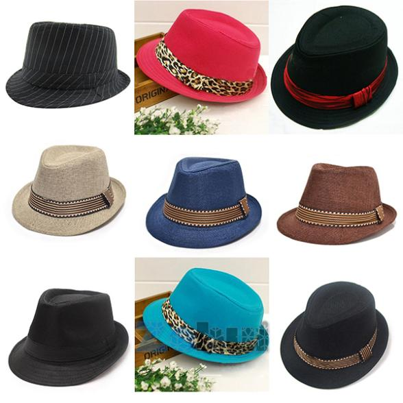 Unisex Baby Jazz Cap Newborn Boys Girls Cool Photography Fedora Hats Baby Accessories S2