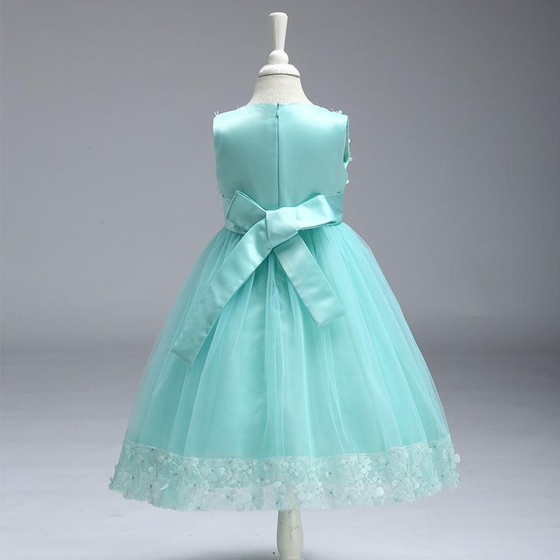 Kid Girl Party Dress Flower (21)