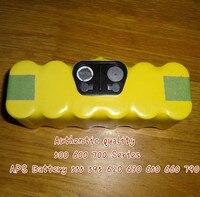 Nuovo oem 4500 mah batteria ni-mh di ricambio per autentico irobot roomba 500 600 700 series batteria 555 595 620 630 650 660 790