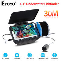 Eyoyo F06 4 3 30M LCD Monitor IR Fish Finder Detector Underwater Sea Lake Ice Fishing