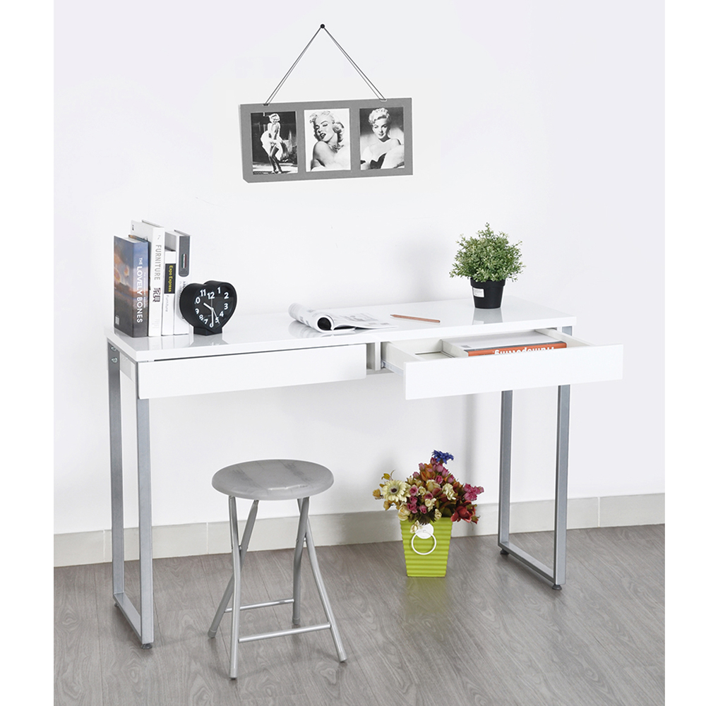 Aingoo Laptop Stand L112*W51*H76.5cm Writing Desk for Office and Study New Design For Working Standing Laptop Computer Desk