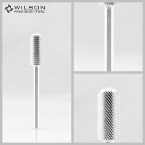 Image 1 - Petite mèche lisse 2 pièces Extra Fine (XF 1110176) argent mèche à ongles en carbure WILSON
