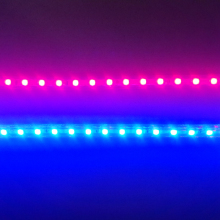 (1m Red + 1m Blue) LED Grow Light Strip 28.8W/Lot 220V, For Seedlings Flowers Vegetables Plants to growth In Grow Tent
