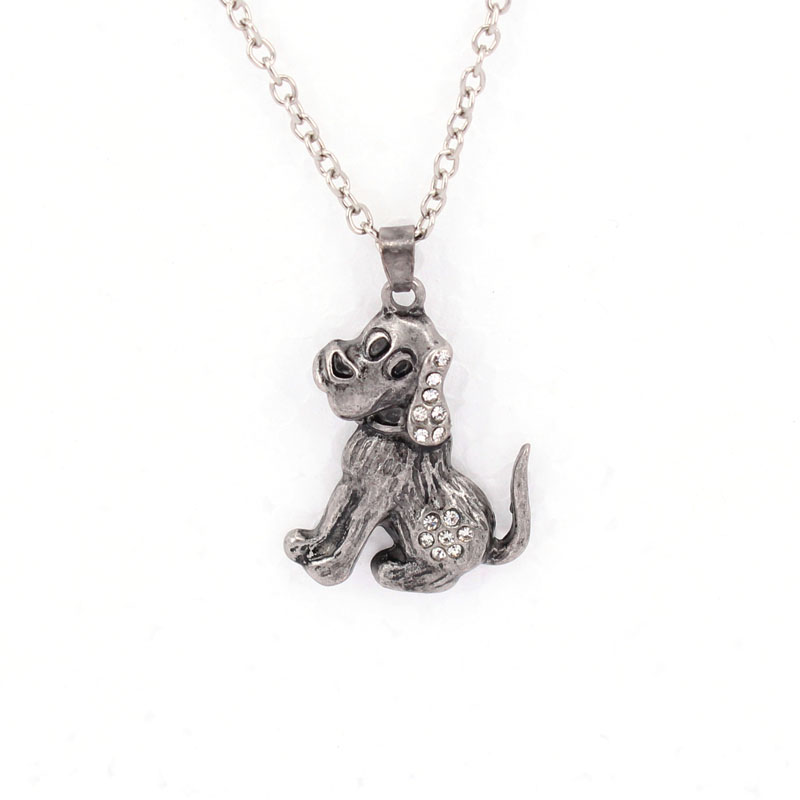 hzew cute dog pendant necklace in Chain Necklaces from Jewelry Accessories