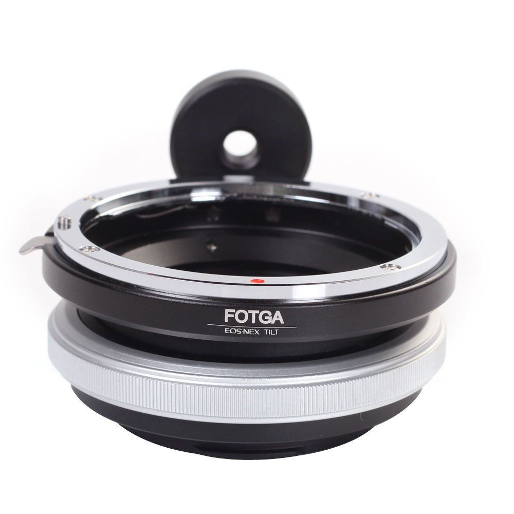 FOTGA Tilt Adapter Ring For Canon Lens to Sony Adapter for Nex-3 Nex-5 NEX-7 NEX-5C brass wholesale meida universal speedlight to hot shoe adapter for sony nex 3 nex 3c more silver