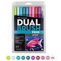 TUNACOCO 10 teile/satz TOMBOW pen-set doppel kopf marker farbe stift weichen pinsel stift zeichnung nomination kunst liefert bb1710080