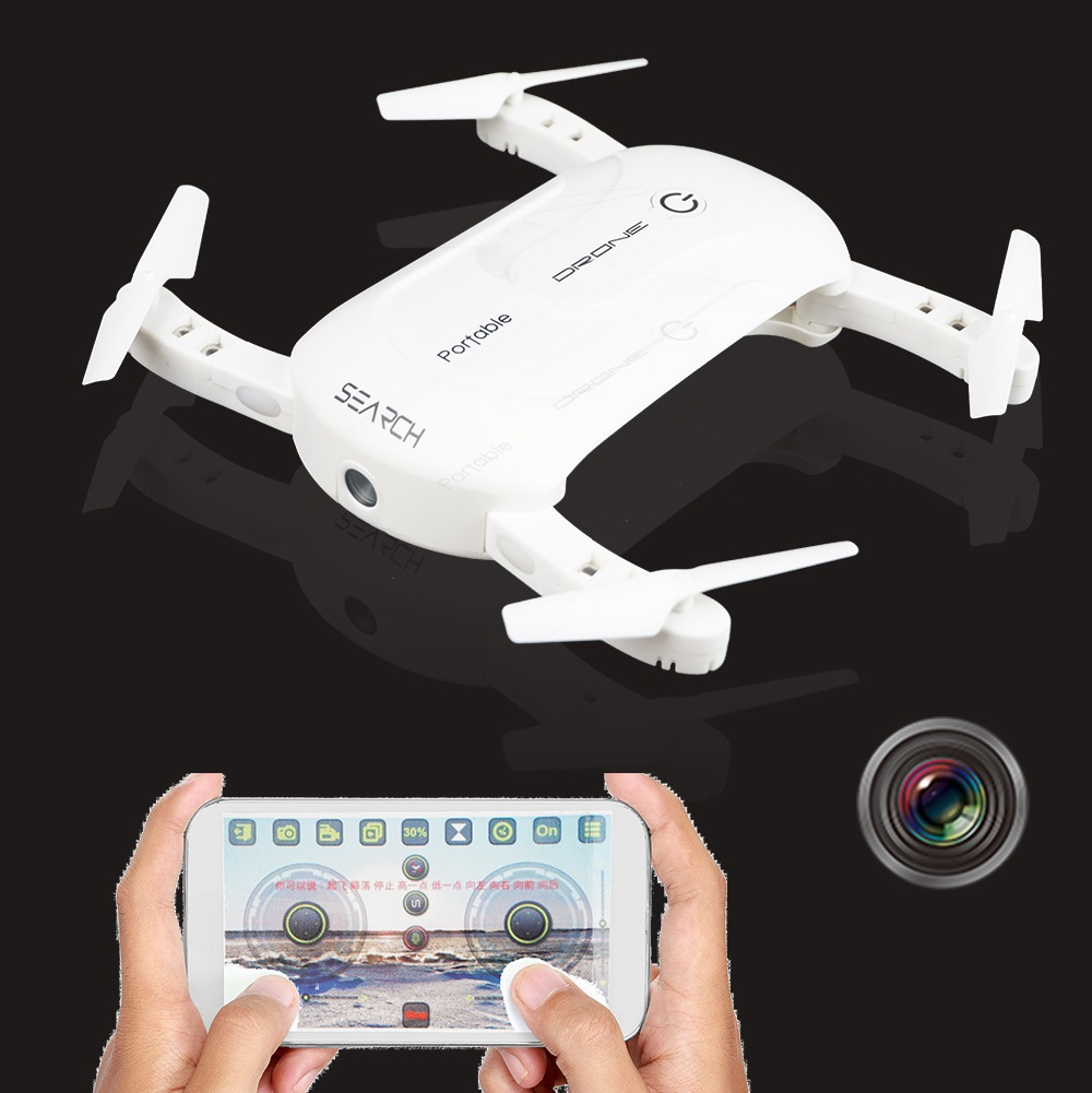 Mini pocket font b drone b font air selifie foldable WIFI FPV remote control font b
