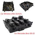 De Corriente para automóvil Eléctrico Elevalunas Switchs Coche Para MercedesBenz 98-03 Coche Power Window Master Control interruptor para Mercedes YC100514
