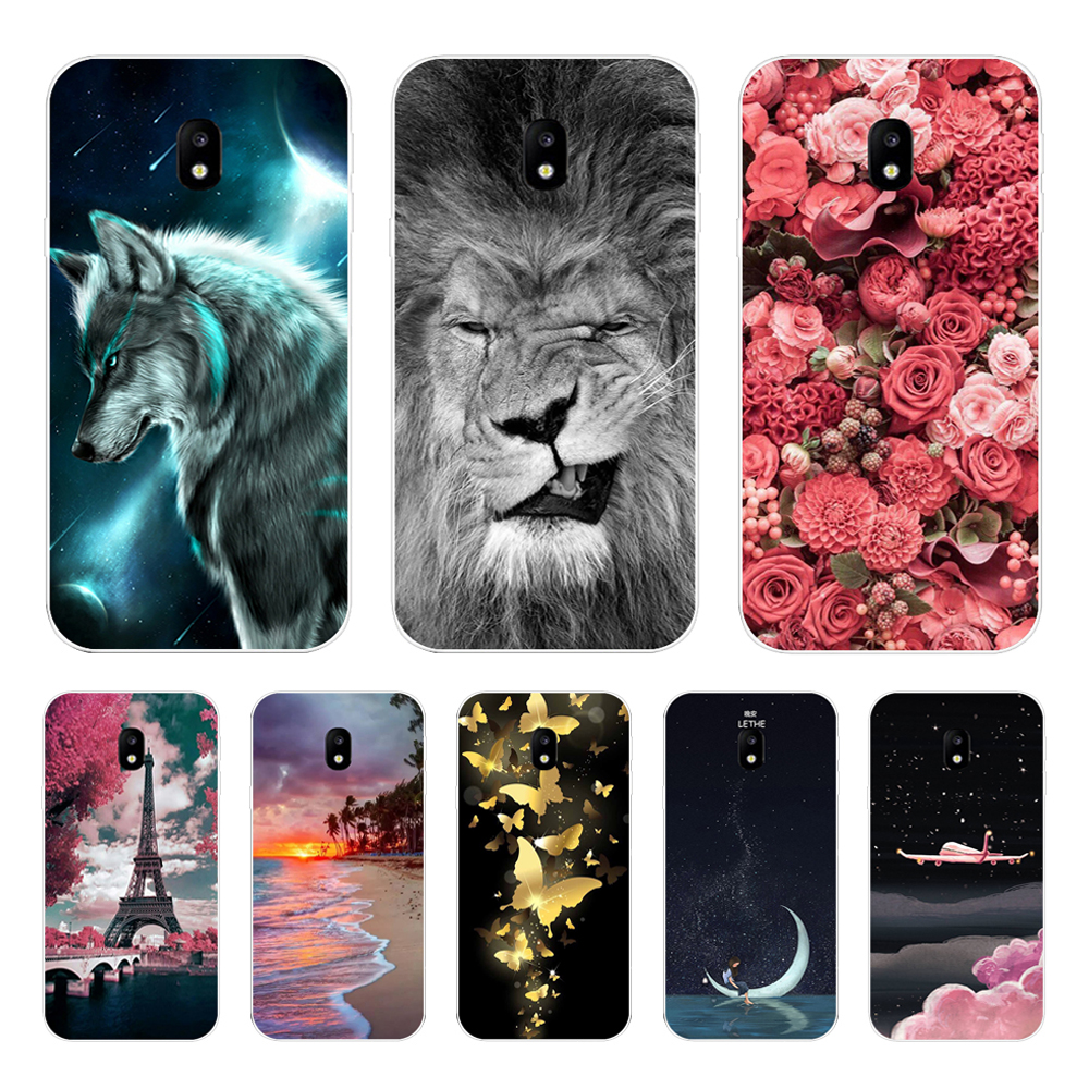 For Samsung Galaxy J3 2017 Case Cover For Samsung Galaxy J3 J7 A3 J5 2017 Case Silicone Cover For Samsung Galaxy A5 2017 Case