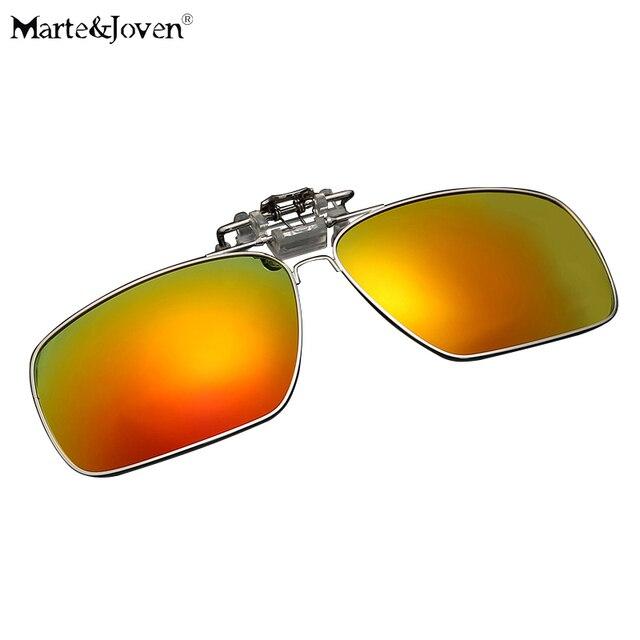 2c2cc41a367  Marte y Joven  Mujeres de Los Hombres Polarizados gafas de Sol Polarizadas  Clips para