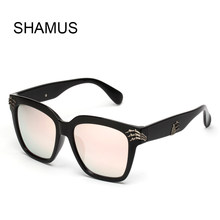 c4ae4aae0a91a SHAMUS Novidade Óculos De Sol Super Fashion Quadros Eyglasses 2017 New Paw  Decora Eyewear Marca Designer Mulheres óculos de Sol .