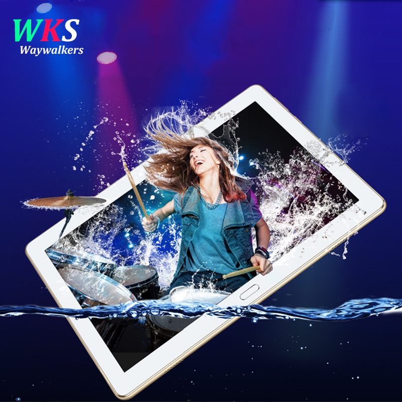 2018 newest 2.5D screen 10 inch tablet pc Android 7.0 octa core RAM 4GB ROM 32/64GB wifi Bluetooth 1280*1200 IPS Smart tablets