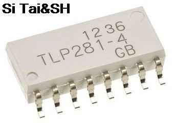 Free shipping 100PCS LOT TLP281 4 TLP281 4GB SOP16 integrated circuit