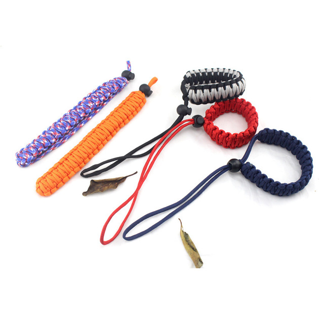 Braided Paracord Camera Wrist Strap