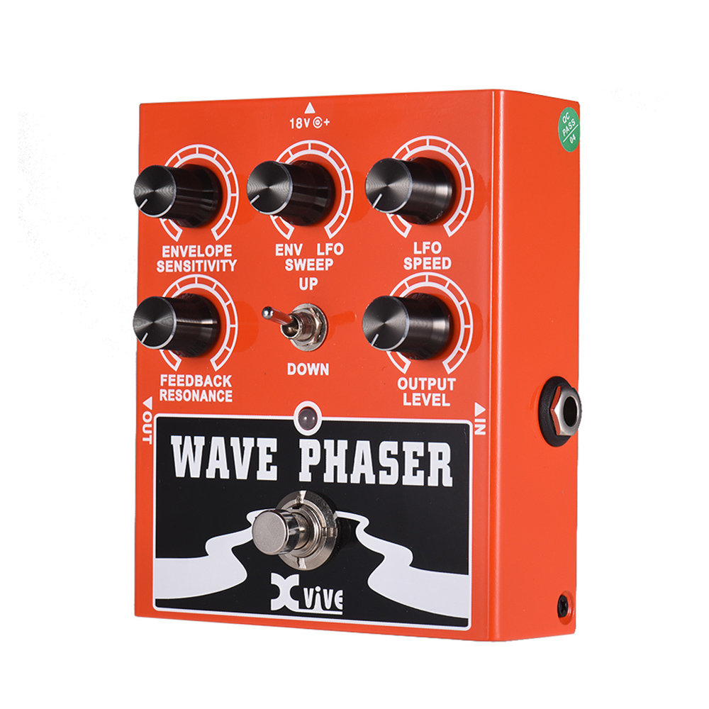 True Bypass Guitar tuner Sound Processing Parts Wave Phaser Guitar Effect Pedal  Full Metal ShellTrue Bypass Guitar tuner Sound Processing Parts Wave Phaser Guitar Effect Pedal  Full Metal Shell