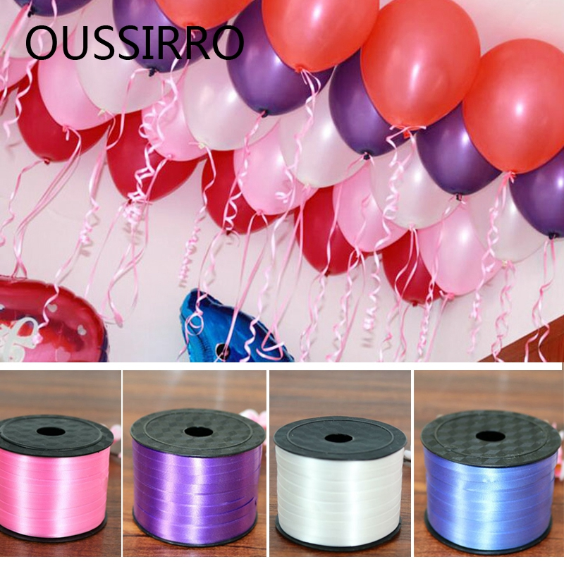 30 meters Curling Ribbon Balloon Wedding Birthday Party Gift Festival Decor
