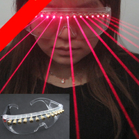 The latest x men laser eye laser glasses red laser glasses laser performance supplies wolverine