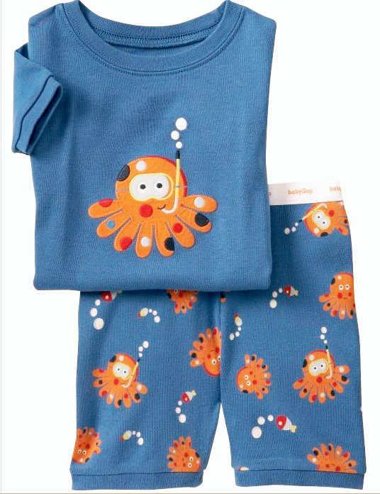 Novedad de verano en Pijamas de algodón de manga corta para niños, ropa de dormir para niños, Pijamas para niñas de 1 a 7 años