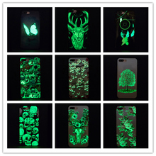 KSTIUCNE Luminous mobile phone cases For iphone XS MAX Case Ultra Slim Soft TPU Fluorescence Phone Cover 7 6 6s