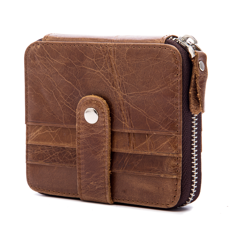 Slim Leather Multi-Card-Cit Pack Bag Men Wallet Creadit Card Holder Bank cardholder Genuine Cowhide Car Holder Purse 1026 ...