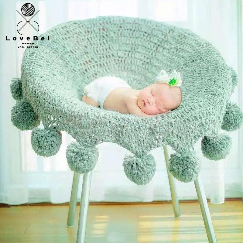 Balle enveloppe couverture nouveau-né bébé photographie arrière-plan nouveau-né Fotografia couverture accessoires