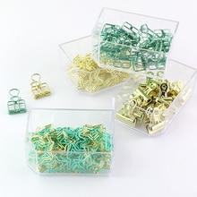 TUTU paper clip binder push pin Office Supplies Mint Green Desk Organizers and Accessories H0253