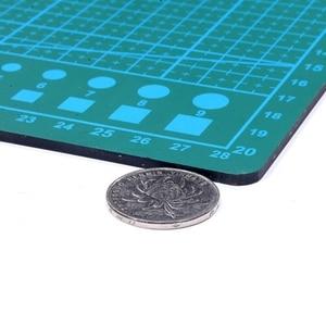 "Image 5 - PVC Cutting Mat a4 ""9 Sea"" Durable Self Healing Handmade DIY Quilting Accessories Flexible Green Patchwork Board Tool 30*22 cm"