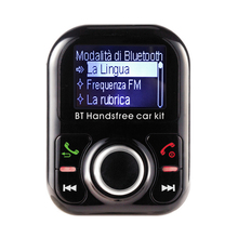 In-Car A2DP function Bluetooth FM Transmitter Italian language Hands-free Calling device for car