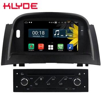 "7"" Octa Core 4G Android 8.1 4GB RAM 64GB ROM BT RDS Car DVD Player Stereo Autoradio GPS Glonass For Renault Megane II 2004-2009"