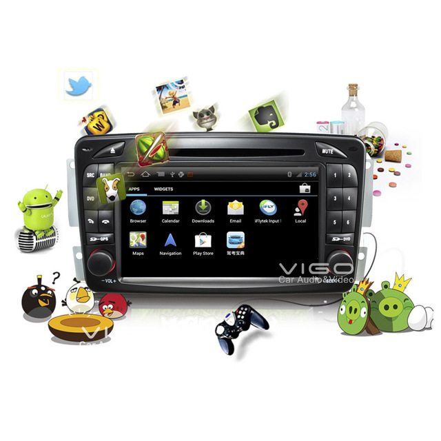 US $679 0 |Car Stereo Android GPS Navigation for Mercedes Benz Vaneo Viano  Vito W203 SLK DVD Player Multimedia Headunit Sat Nav Autoradio-in Car