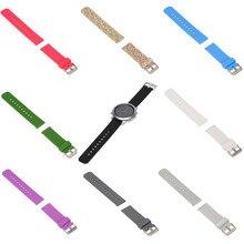 Cinta Faixas de Relógio de pulseira de Silicone para Samsung Galaxy Engrenagem SM-R380, SM-R381, SM-R382/Seixo Tempo/Tempo de Aço/Cookoo2 Relógio Inteligente