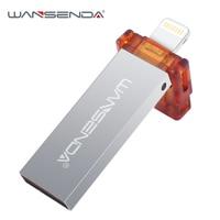 Wansenda I100 Pen Drive For Iphone Ipad Ipod Usb Flash Drive OTG Usb 2 0 16gb