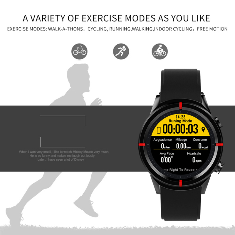 watch with mileage tracker