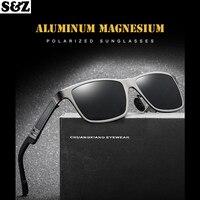 1d2248ff6 2019 New Sunglasses Polarized Sunglasses Aluminium Magnesium Glass Men S  Glasses Retro Brand Luxury Men Sunglasses